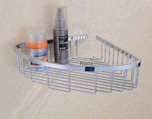 Corner shower caddy stainless steel wall mount corner - Bathroom corner caddy stainless steel ...
