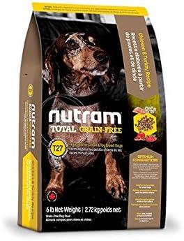 Nutram T27 Total Grain Free Chicken Turkey Dog Food Recipe