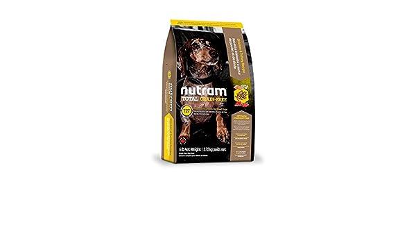 nutram T27 Total Grain-Free ® Chicken & Turkey Dog Food Receta olistica con carne de pollo y pavo de kg. 6,8: Amazon.es: Productos para mascotas