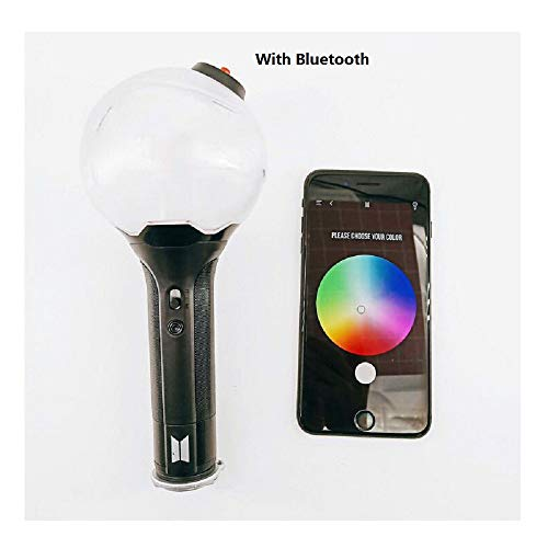 (PINGJING BTS Light Stick VER3 with Bluetooth or without Bluetooth (VER.3 with Bluetooth) )