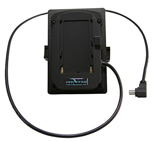IndiPRO Sony L-Series Mounting Plate to Mini USB, Built-in 5V Regulator by Indipro Tools