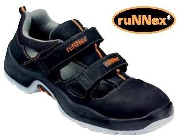 ruNNex Sicherheitssandalen 5100-49 - S1 - schwarz