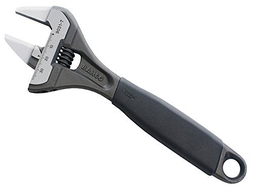 Bahco 9029TT thin jaw thin jaw big mouth adjustable wrench 6-Inch by Bahco