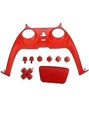 Controller Shell, PS5 Controller Ersättnings Shell, DIY Shell Dekorativ Strip för PS5 Dualsense Controller(Red)