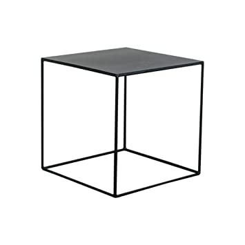 Amazon.com: WYNZYBZ - Mesa de café de hierro, mesa auxiliar ...