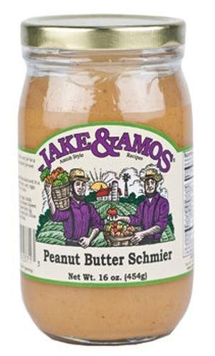 Jake & Amos Peanut Butter Schmier-Amish- Pint 16 oz