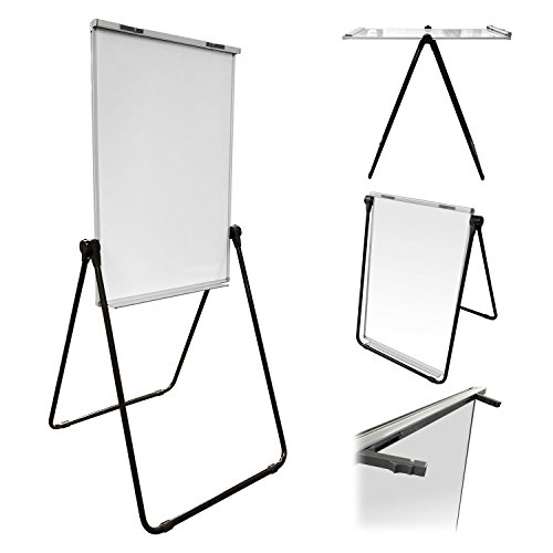 Thornton's Office Supplies Magnetic Double Sided Height Adjustable Dry Erase Flipchart Easel Board, 39'' x 27'' by Thornton's Office Supplies