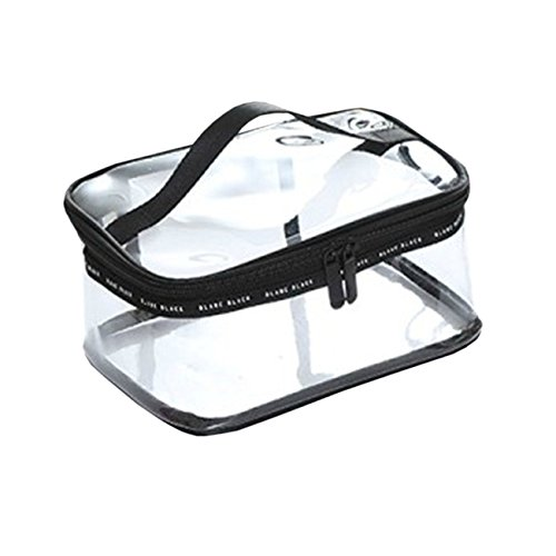 THEE Travel Clear Toiletry Bag Cosmetic Bag