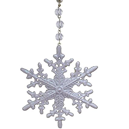 Amazon magtrim light charms by magnetic glitter snowflake magtrim light charms by magnetic glitter snowflake magnetically attachable chandelier lamp ornament christmas mozeypictures Images