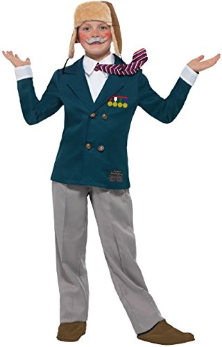 Boys Official Grandpas Great Escape David Walliams World Book Day Week Fancy Dress Costume Outfit 4-14yrs (7-9 ()