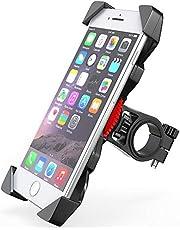 """Soporte Movil Bicicleta, Anti Vibración Soporte Movil Bici Montaña con 360° Rotación para Moto Cochecito, Universal Manillar para 3.5""""-6.5"""" Smartphones …"""