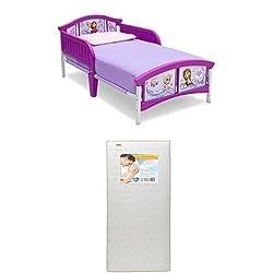Delta Children Plastic Toddler Bed, Disney Frozen  with...