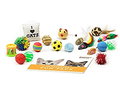 Friends Forever Cat Toys Variety Pack, 20 pieces from Friends Forever