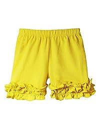 Wholesale Princess Boutique Ruffle Bottom Icing Shorts - 12 Color Options!