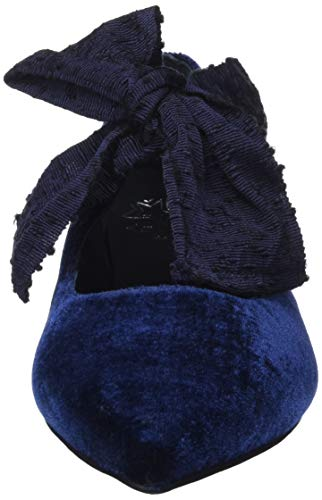 Femme Marino à Marino Ballerines MIRALLES PEDRO Bride 24035 Cheville Bleu F6P8qR