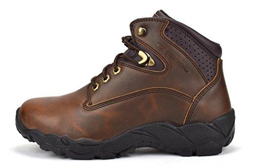 CONDOR Idaho Mens 6 Steel Toe Work Boot Brown aOBww