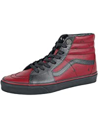 Marvel Deadpool/Black SK8-Hi Sneakers