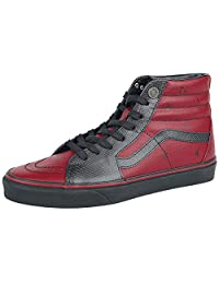 Vans UNI-Sex Classic Slip-On Red/White Skateboard Shoes