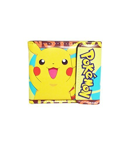 (Pokemon: Pikachu & Trainer Ash Cute Vinyl Wallet)
