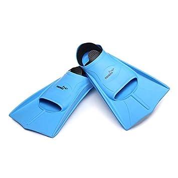 Goldyqin Natación Aletas Cortas Aleta de Buceo Aletas de Silicona cómodos  Zapatos Ligeros Aletas para Nadar Equipo de Buceo Unisex  Amazon.es   Deportes y ... cc6c5f54f51