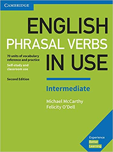 Amazon.com: English Phrasal Verbs in Use Intermediate Book with Answers: Vocabulary Reference and Practice (9781316628157): McCarthy, Michael, O'Dell, Felicity: Books