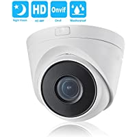 4MP IP Camera Dome POE Onvif 2.8mm-12mm Varifocal Zoom lens-Hikvision OEM DS-2CD1H41-IZ Network Camera Outdoor IP66 Weatherproof IR Night Vision