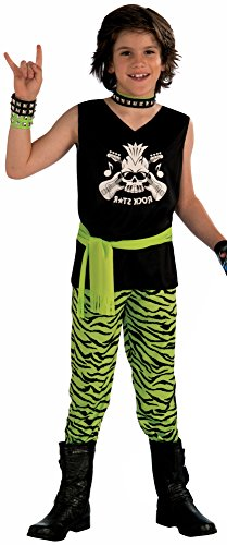 Forum Novelties Rock Star Dude Child Costume, Medium (80s Punk Rock Halloween Costumes)