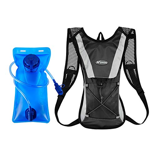 1932a49f7b KUYOU Hydration Pack Water Rucksack Backpack Bladder Bag Cycling Bicycle  Bike/Hiking Climbing Pouch +