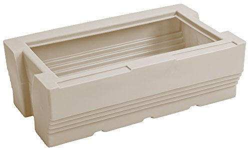 (Wise Premier Series Pontoon Flip-Flop Seat Base Only, Platinum)