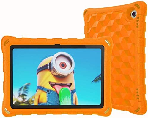 iPad Mini Tablet Case,iPad Mini 5 4 3 2 1 Tablet Case,Mr.Spades Light Weight [Kids and Adult Friendly] Anti-Slip Shock-Absorption Tablets Cover for iPad Mini 5 4 3 2 1 – Orange