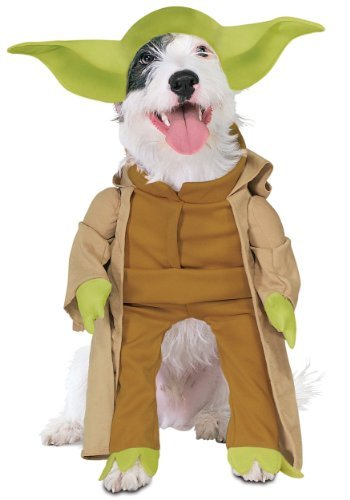 MyPartyShirt Yoda Star Wars Pet Costume -Dog Large ()