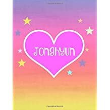 Jonghyun: Kpop Journal,Notebook,Diary,Lined paper,composition book,Fan,Shinee,Merchandise,unofficial: Use for Journalling,album for photo cards,School,Art:Cool Gift: Girl,women,teens