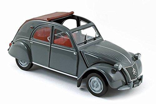 DIECAST Toys CAR NOREV 1:18 1957 Citroen 2CV AZL Malle BOMBEE 181499GRY