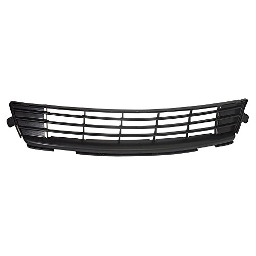 Front Lower Center Bumper Grille Textured Black Replacement for Toyota Corolla 53112-02280 AutoAndArt ()