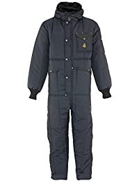 Men's Iron-Tuff Insulated Coveralls with Hood -50F Extreme Cold Suit