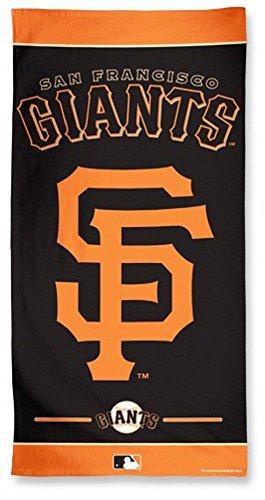 San Francisco Giant Stadium (MLB San Francisco Giants Fiber Beach Towel, 9lb/30 x 60