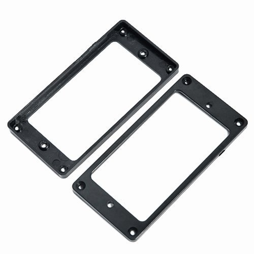 1-pair2-pcs-Humbucker-Pickup-Surrounds-Black-for-Gibson-Les-Paul-Replacement