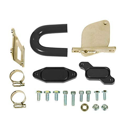 (EGR Valve Kit for 2007 2008 2009 2010 Chevrolet Silverado GMC Sierra 2500 3500 HD V8 6.6L Duramax LMM Diesel)