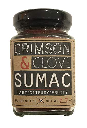 (Ground Sumac Berries by Crimson and Clove (2.7 oz.))