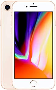 Apple iPhone 8 (256GB, Gold) [Carrier Locked] + Carrier Subscription [Cricket Wireless] ($10/month Amazon gift