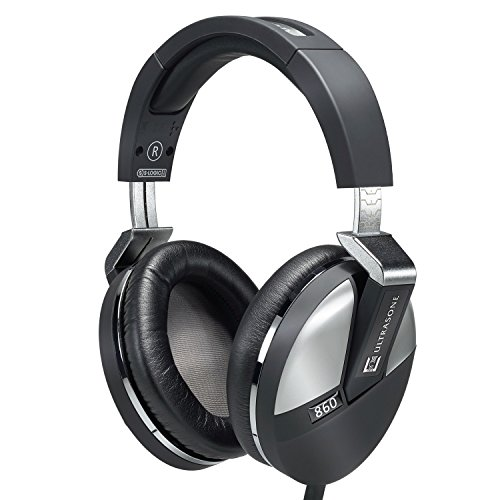 Ultrasone Performance 860 S-Logic Plus Surround Sound Professional Closed-back Headphones with Transport Case