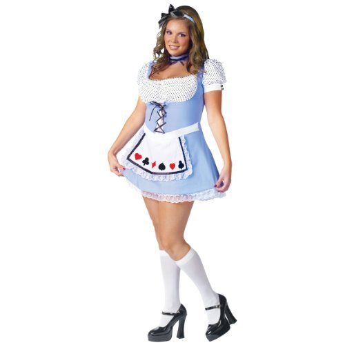 Storybook Alice Plus Size Costumes - Alice Plus Size Costume - Womens