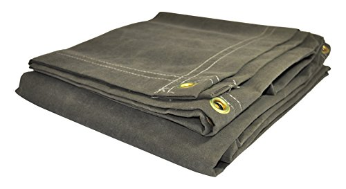 - DRY TOP 61224 Canvas Tarp, 12' X 24'
