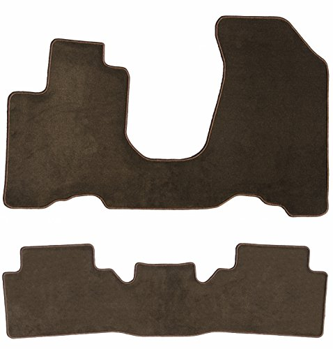 GG Bailey D60047-S2C-CH-BR Two Row Set Custom Car Mat, Chocolate Brown (For Select BMW Isetta Models (Standard))