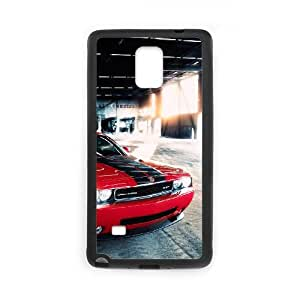 Samsung Galaxy Note 4 Cell Phone Case Black Dodge 004 VC9GG854