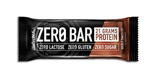 2 x Biotech USA Zero Bar, 20x50g Riegel , Apfelkuchen (2er Pack)