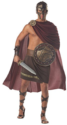 Male Indian Costume Ideas (Spartan Warrior Adult Costume - X-Large)