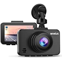 WiMiUS Dash Cam 1080P FHD DVR Dash Camera Car Driving...