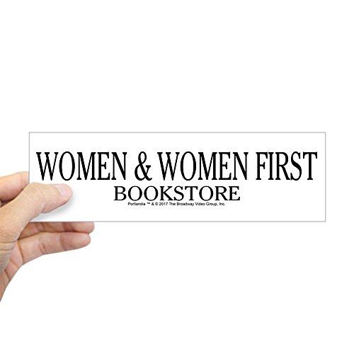 """CafePress Women and Women First Portlandia Bumper Sticker 10""""x3"""" Rectangle Bumper Sticker Car Decal"""