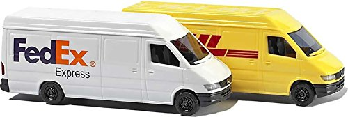 busch-n-scale-mercedes-sprinter-van-set-fedex-dhl-2-pack-model-vehicles